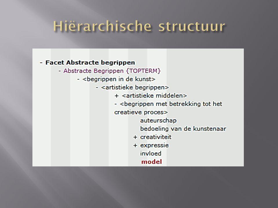 Hiërarchische structuur