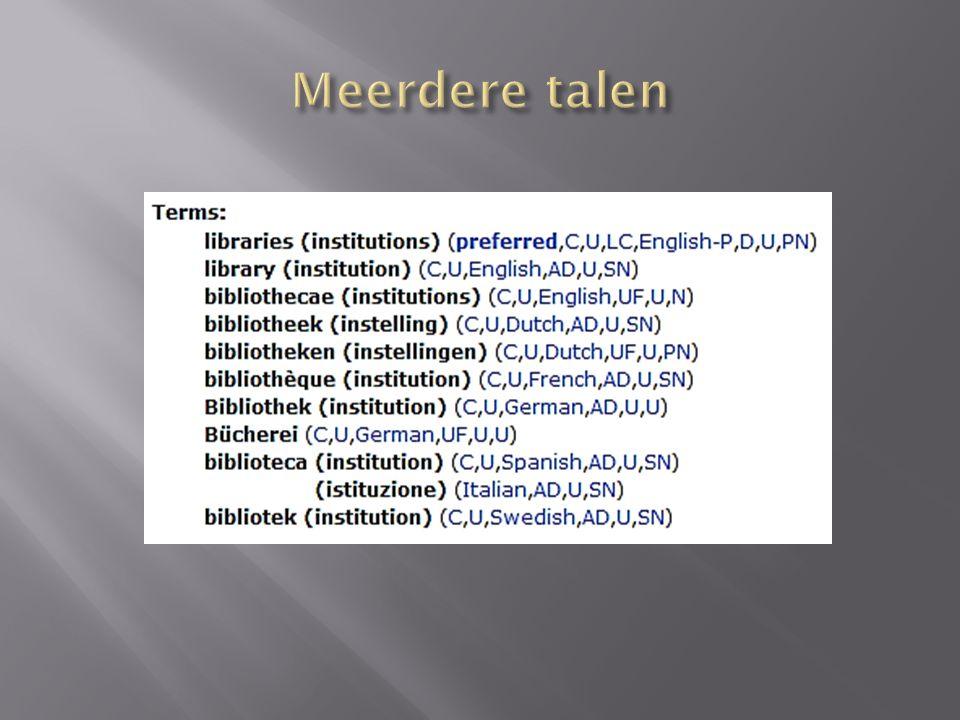 Meerdere talen