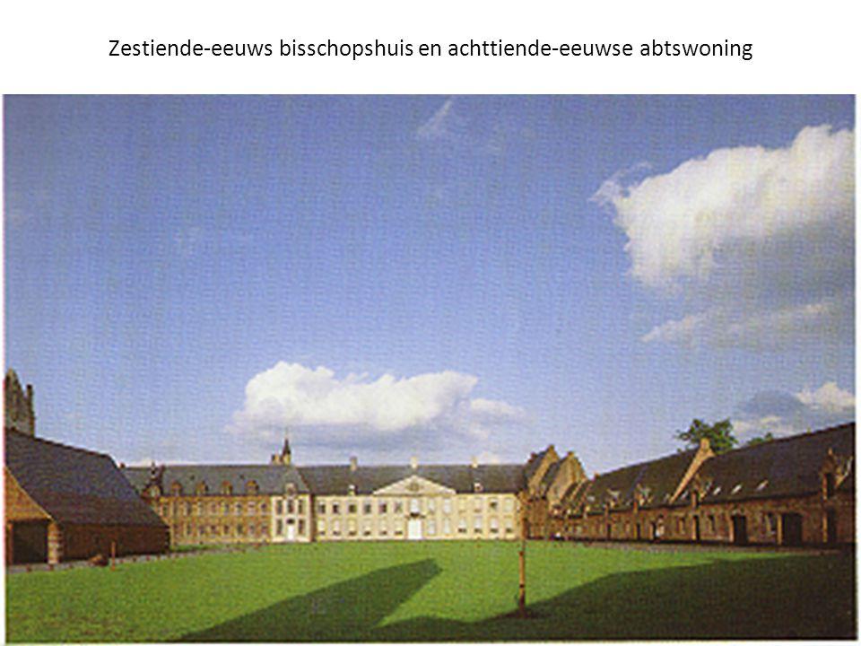 Zestiende-eeuws bisschopshuis en achttiende-eeuwse abtswoning
