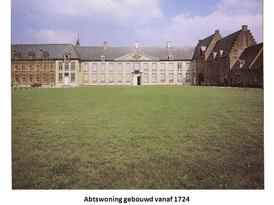 Abtswoning gebouwd vanaf 1724