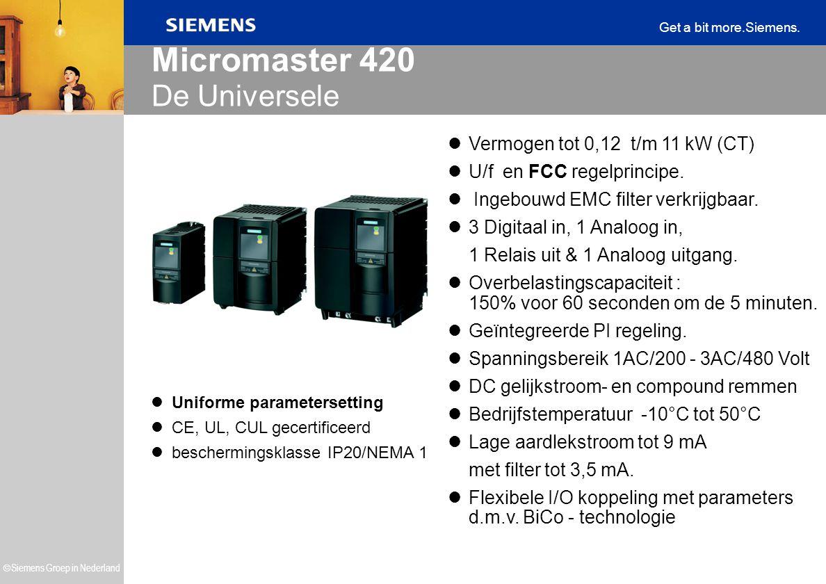 Micromaster 420 De Universele