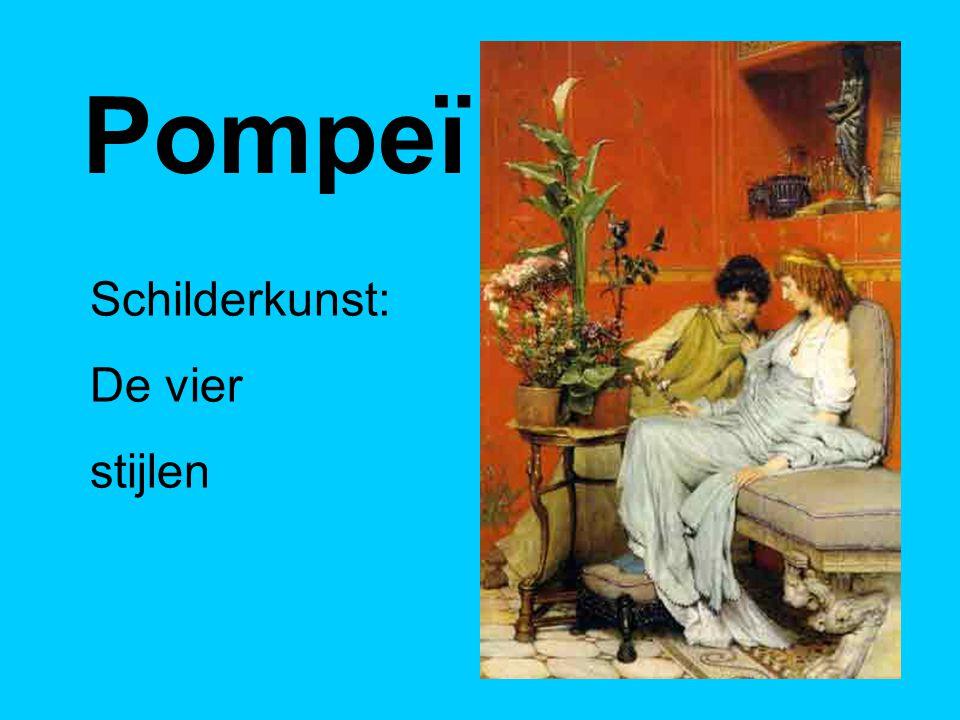 Pompeï Schilderkunst: De vier stijlen