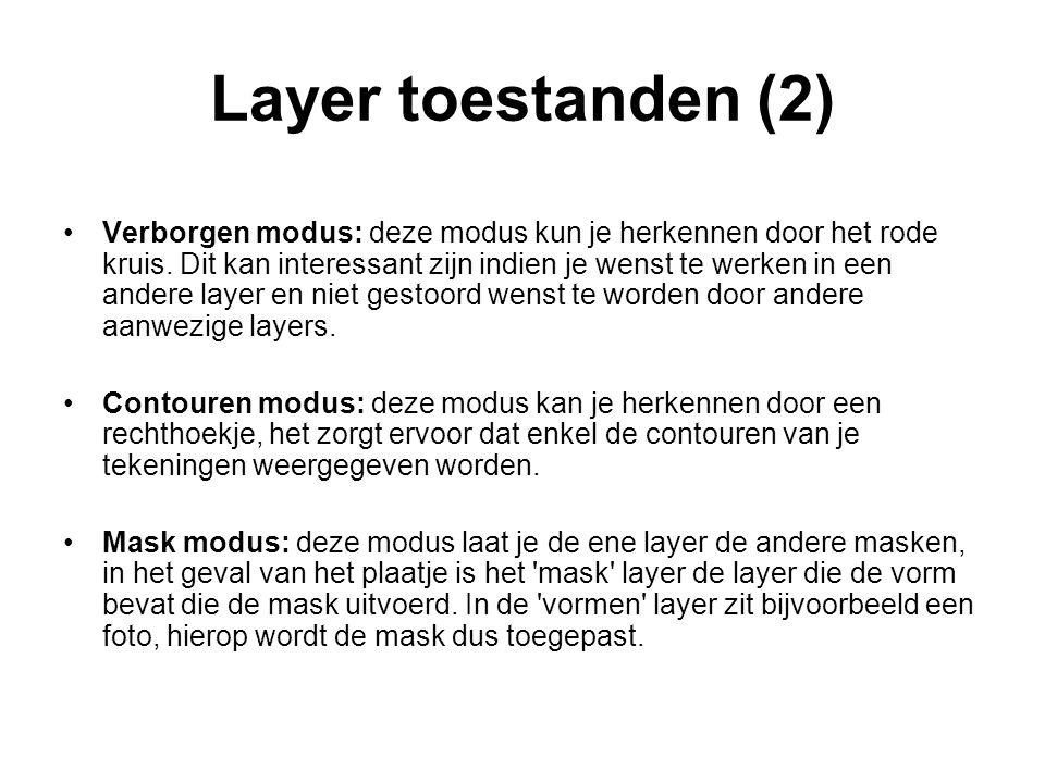 Layer toestanden (2)