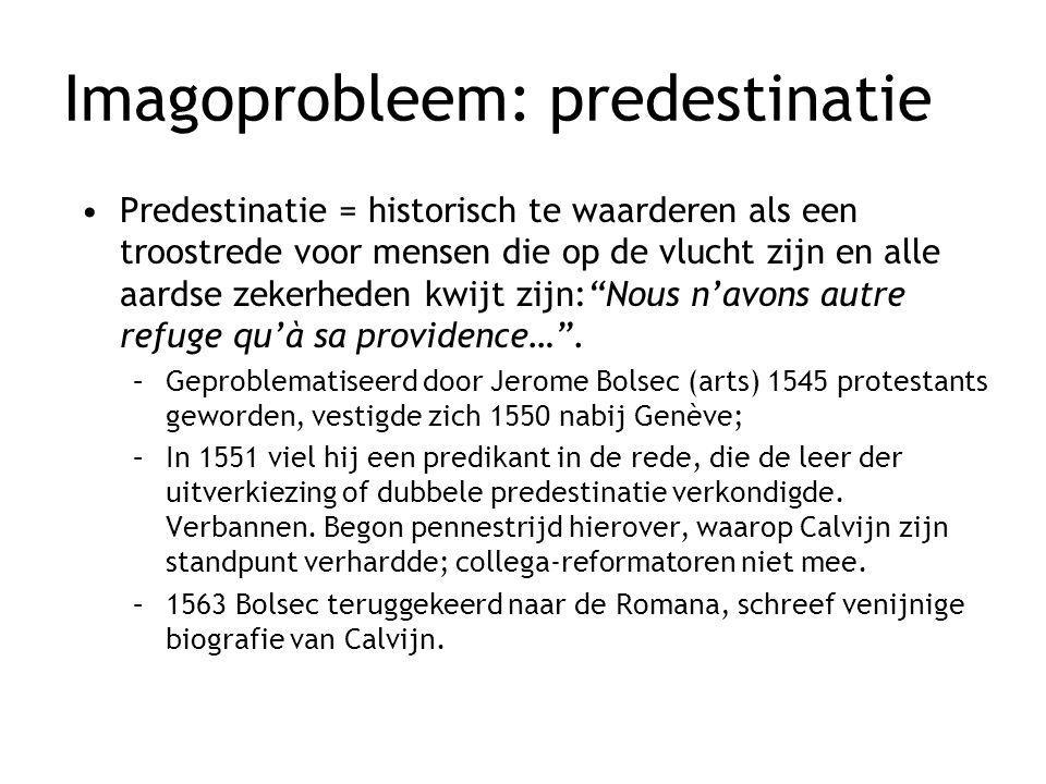 Imagoprobleem: predestinatie