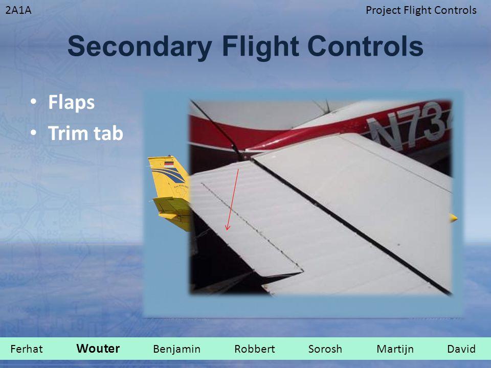 Secondary Flight Controls