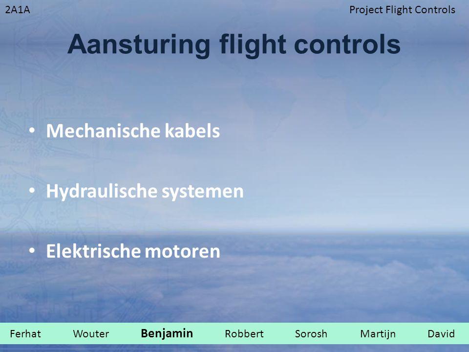 Aansturing flight controls