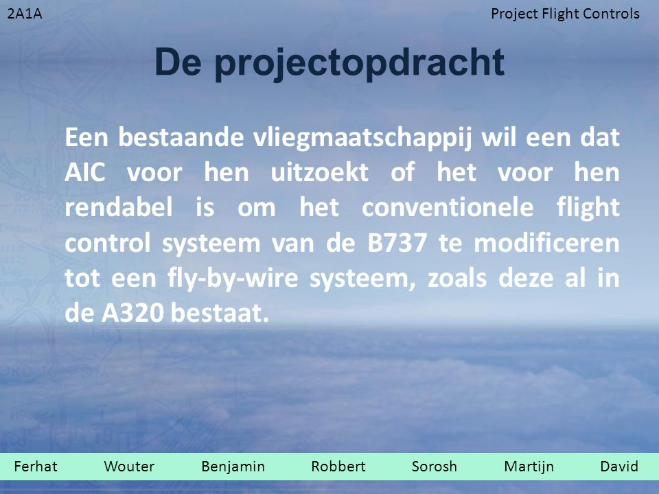 De projectopdracht