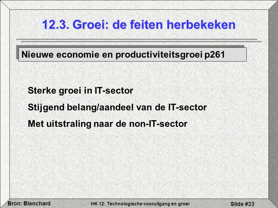 12.3. Groei: de feiten herbekeken