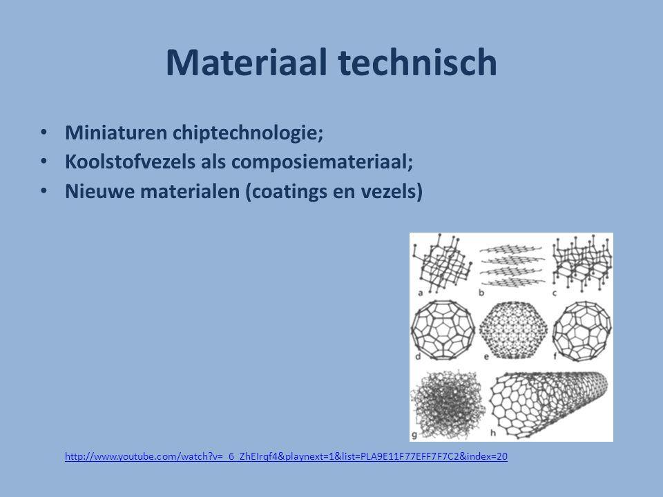 Materiaal technisch Miniaturen chiptechnologie;