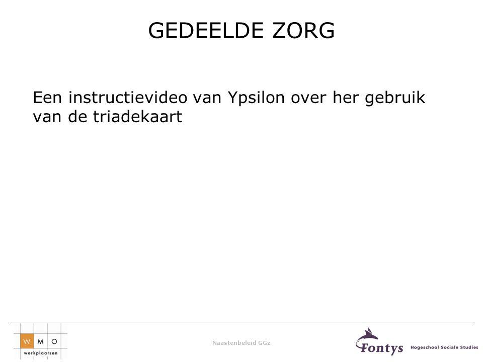 GEDEELDE ZORG Een instructievideo van Ypsilon over her gebruik van de triadekaart