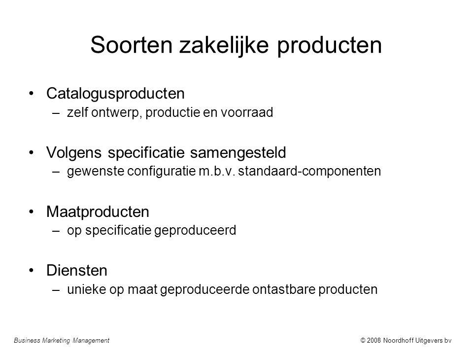 Soorten zakelijke producten