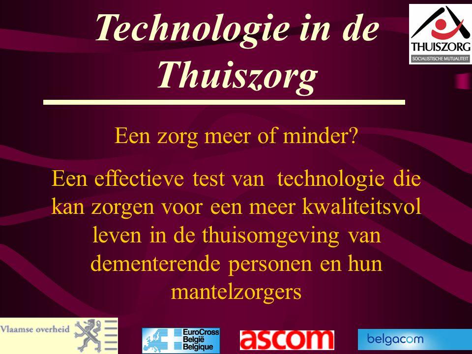 Technologie in de Thuiszorg