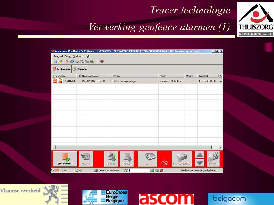 Tracer technologie Verwerking geofence alarmen (1)