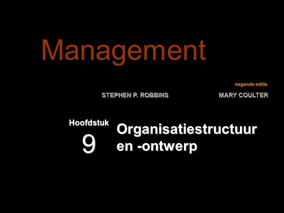 Organisatiestructuur en -ontwerp
