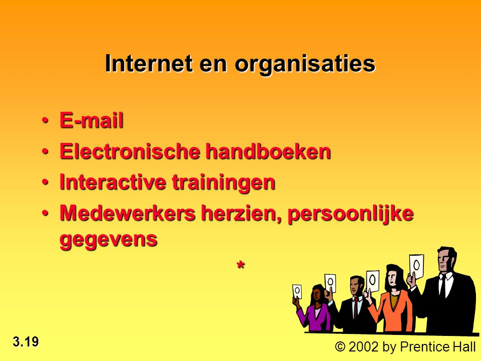 Internet en organisaties