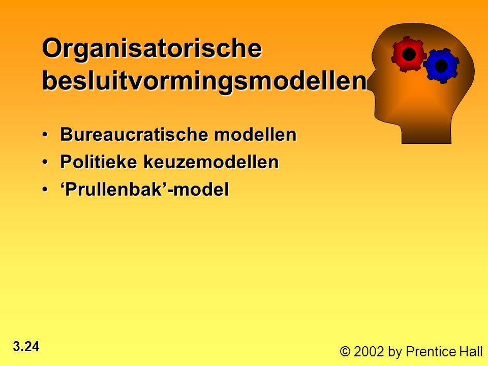 Organisatorische besluitvormingsmodellen