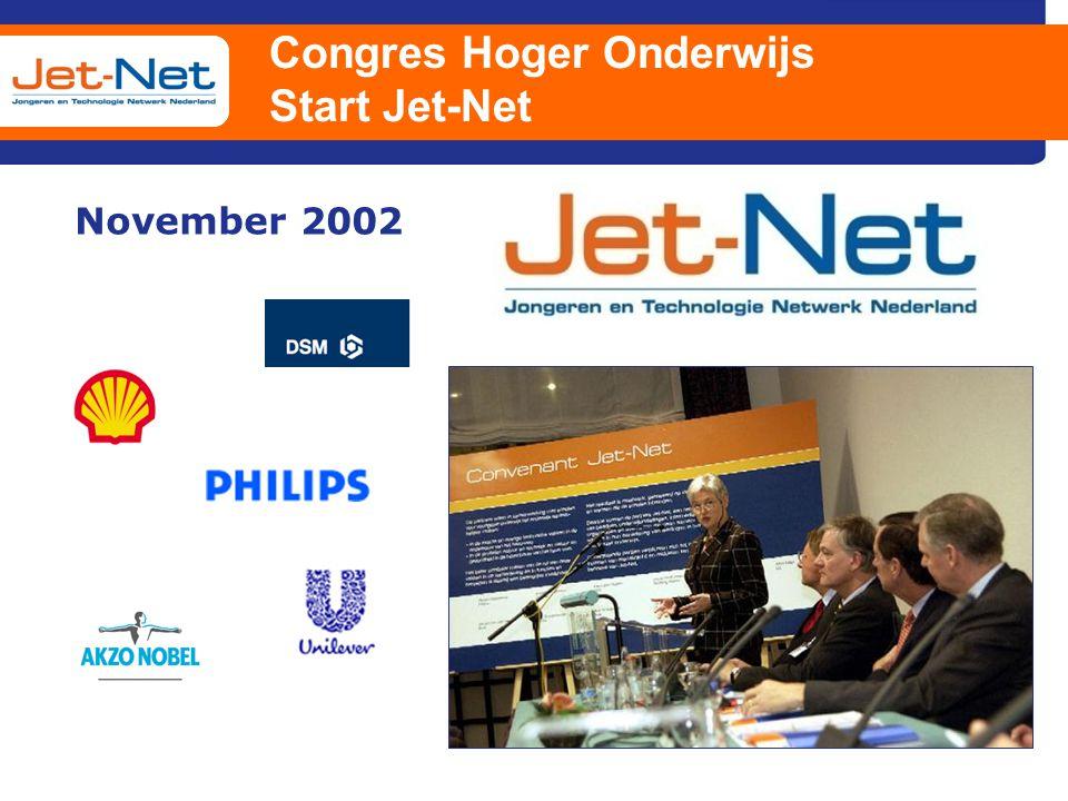 Congres Hoger Onderwijs Start Jet-Net