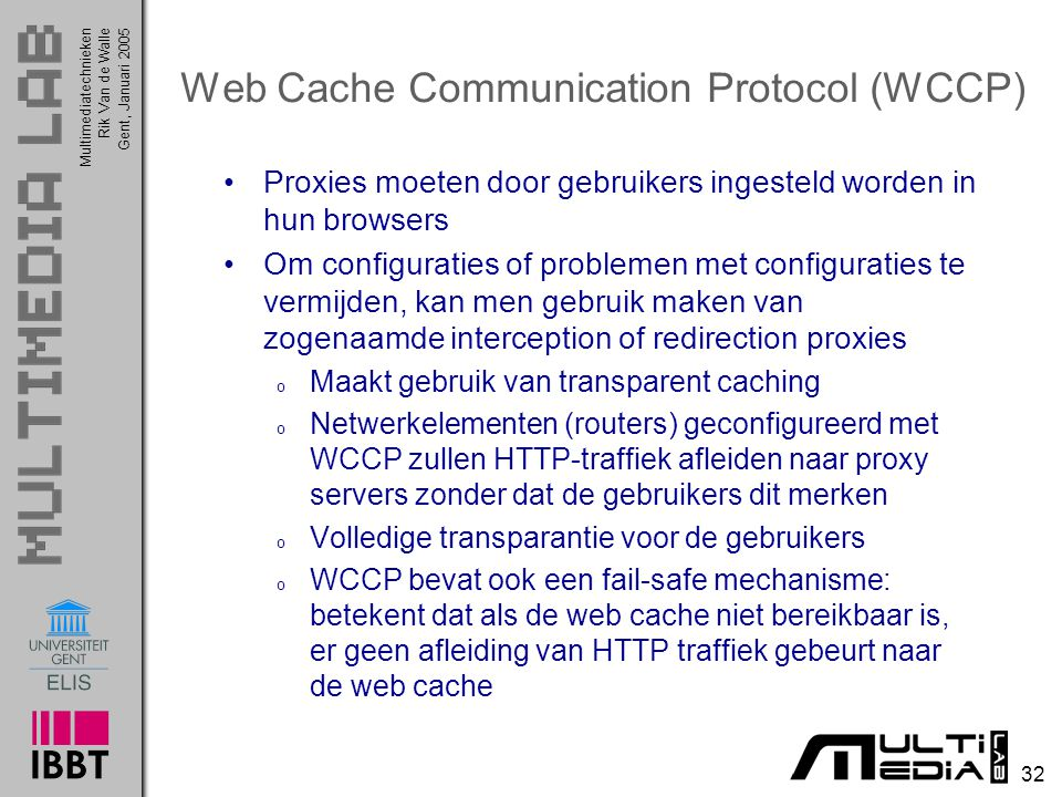 Web Cache Communication Protocol (WCCP)