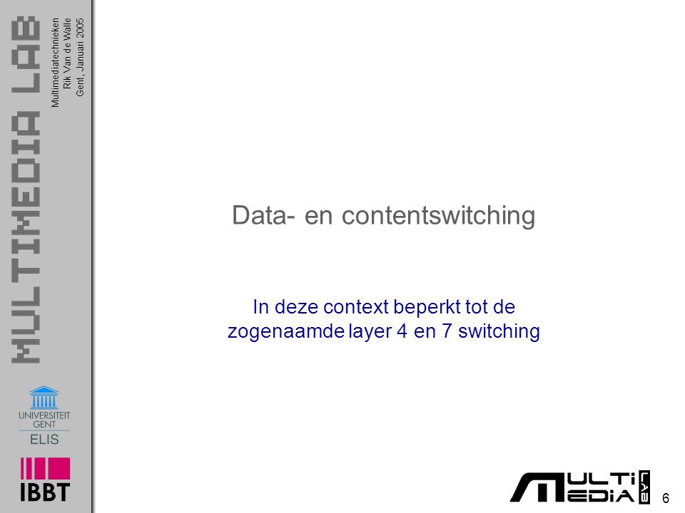 Data- en contentswitching