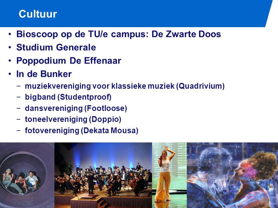 Uitgaan Studentencentrum De Bunker Stad Eindhoven