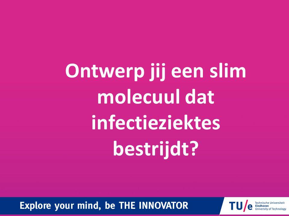 Molecuulontwerp: alternatief voor antibiotica