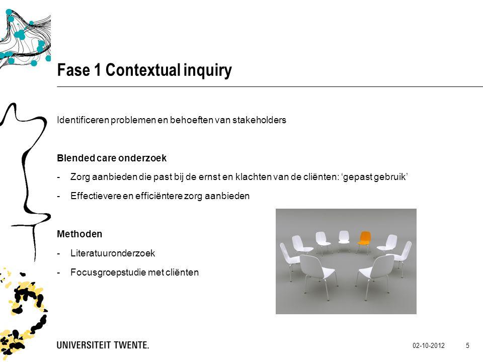 Fase 1 Contextual inquiry