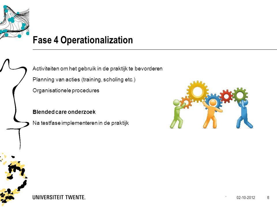 Fase 4 Operationalization