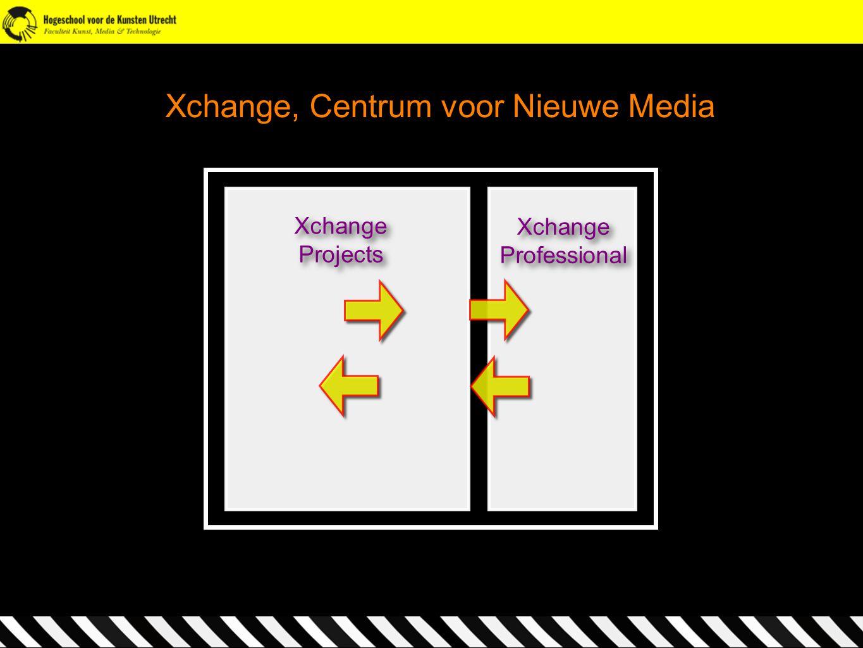Xchange, Centrum voor Nieuwe Media