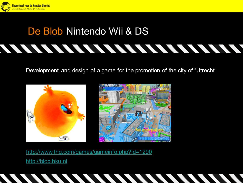 De Blob Nintendo Wii & DS