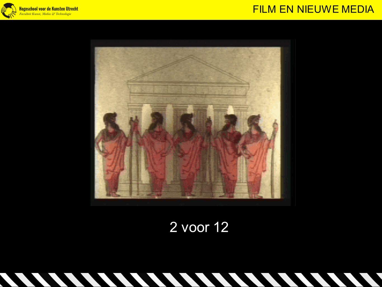 FILM EN NIEUWE MEDIA 2 voor 12 2