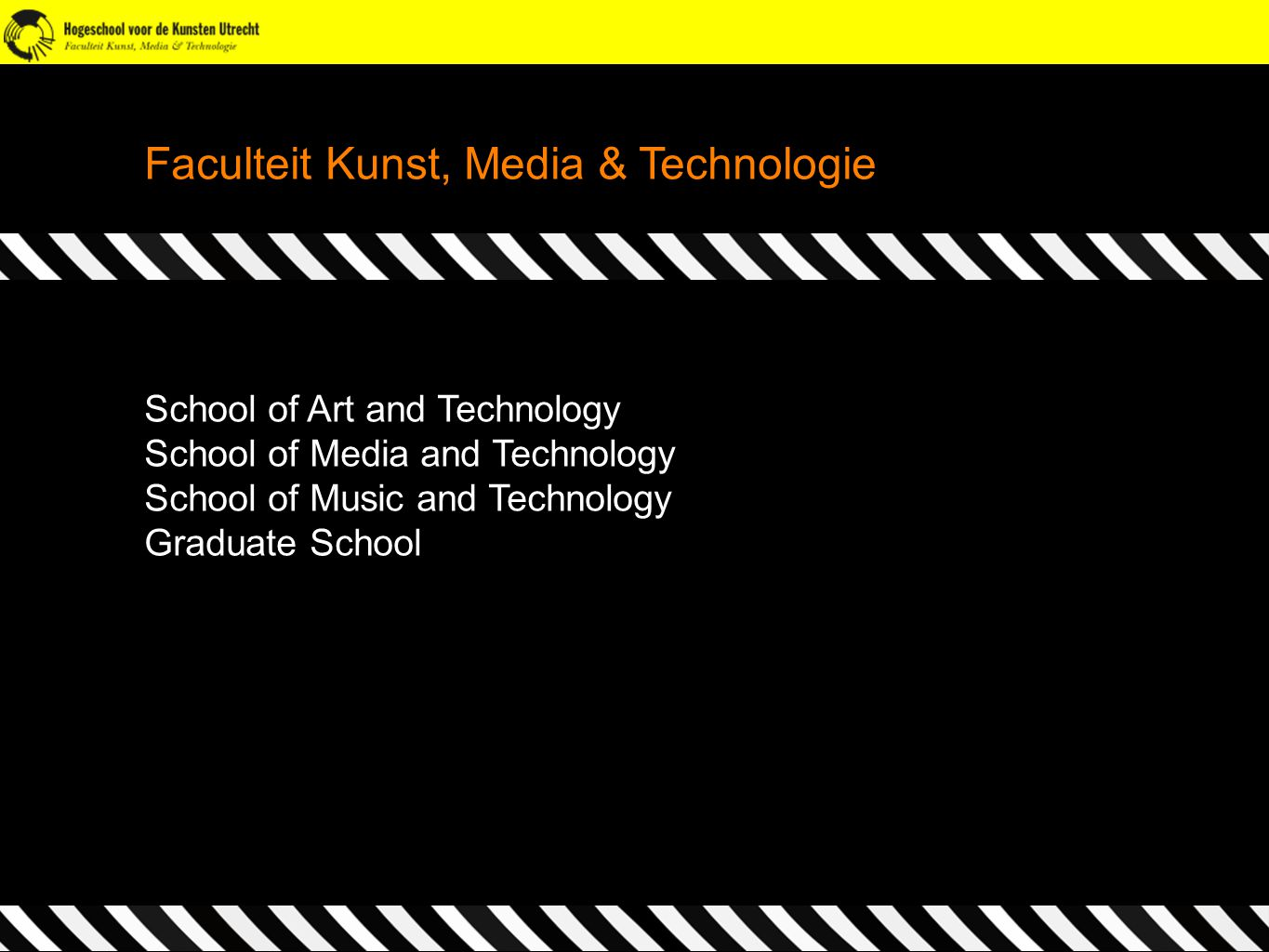 Faculteit Kunst, Media & Technologie