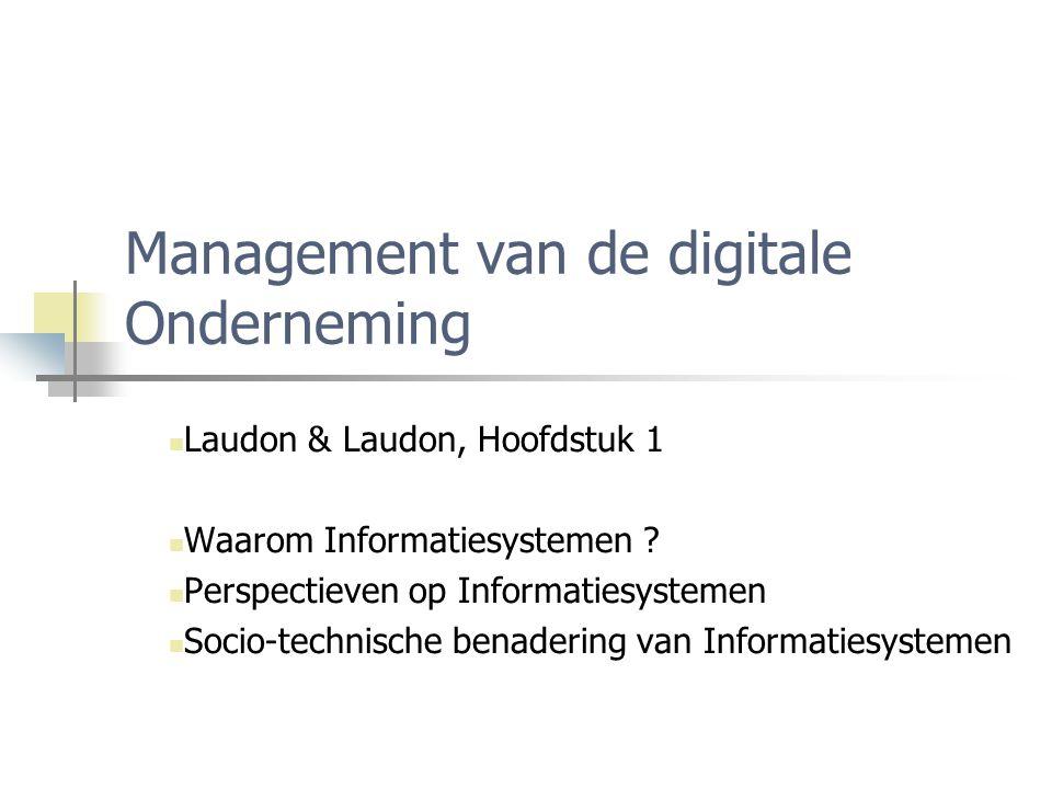 Management van de digitale Onderneming