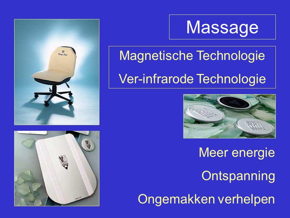 Massage Magnetische Technologie Ver-infrarode Technologie Meer energie