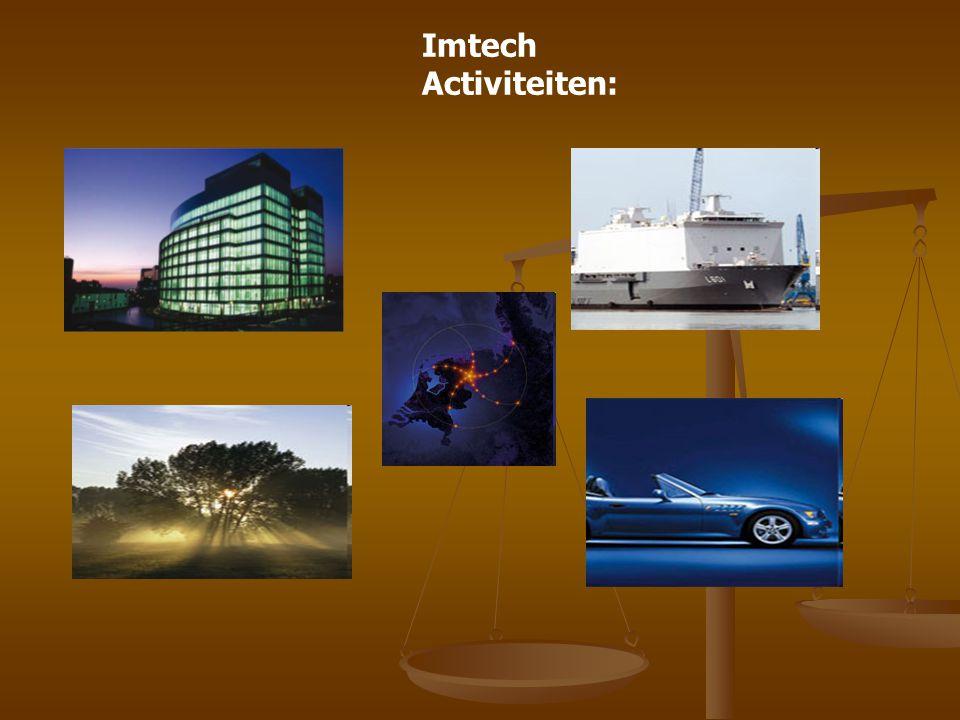Imtech Activiteiten: