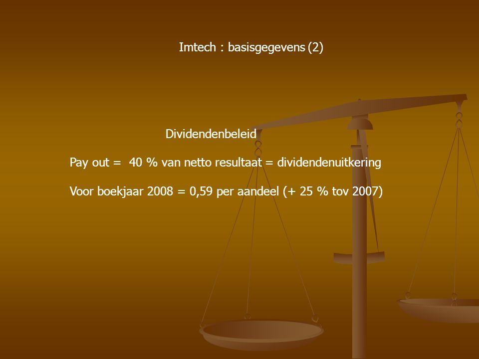 Imtech : basisgegevens (2)