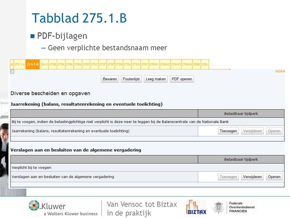Tabblad 275.1.B PDF-bijlagen Geen verplichte bestandsnaam meer