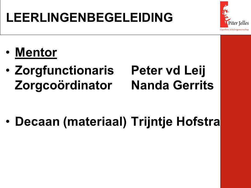 LEERLINGENBEGELEIDING