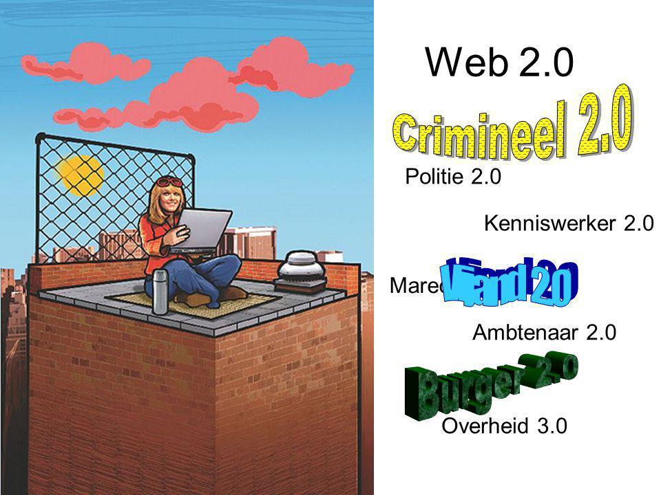 Web 2.0 Crimineel 2.0 Vijand 2.0 Burger 2.0 Politie 2.0