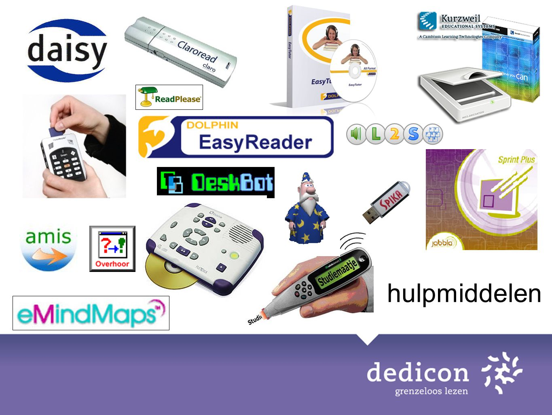Veel hulpmiddelen, vele mogelijkheden -> vele keuzemogelijkheden