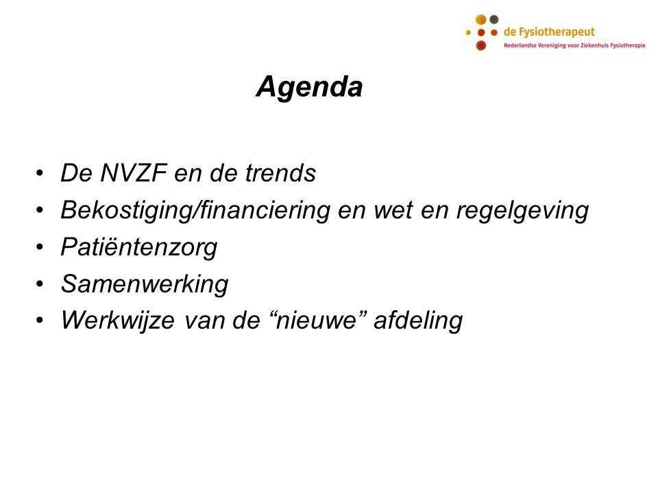 Agenda De NVZF en de trends