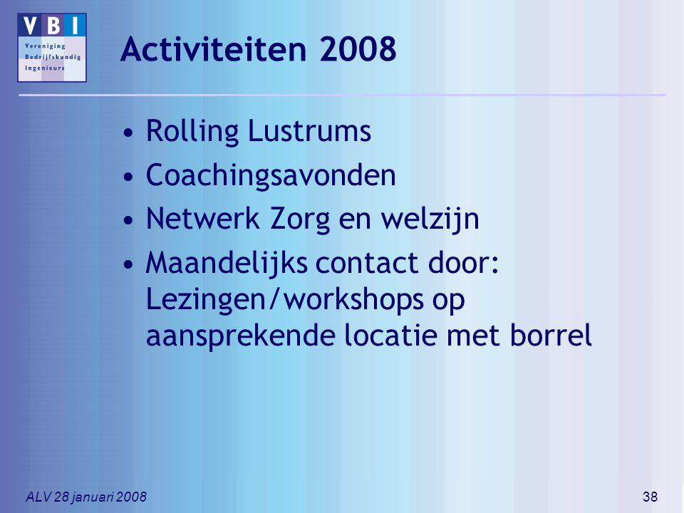 Activiteiten 2008 Rolling Lustrums Coachingsavonden