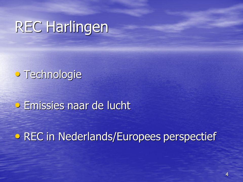 REC Harlingen Technologie Emissies naar de lucht
