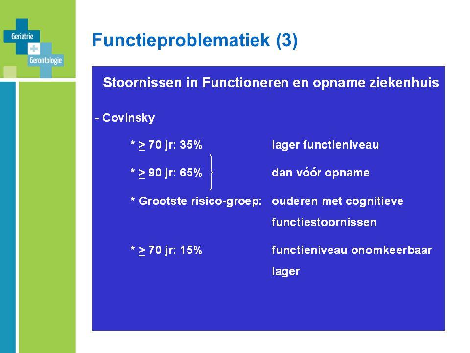 Functieproblematiek (3)