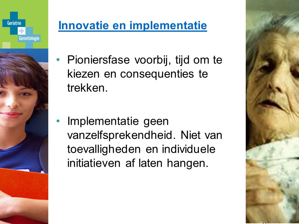 Innovatie en implementatie