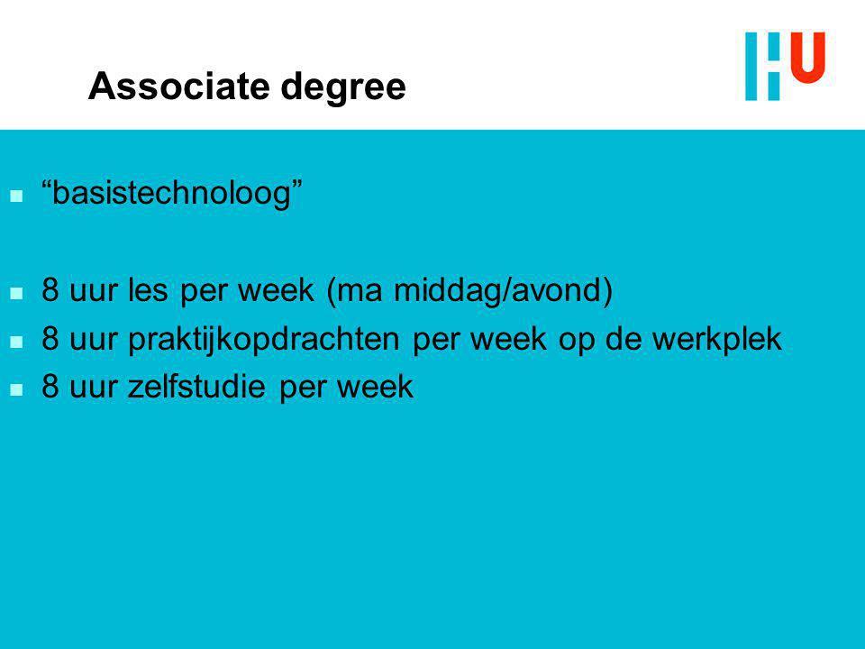 Associate degree basistechnoloog