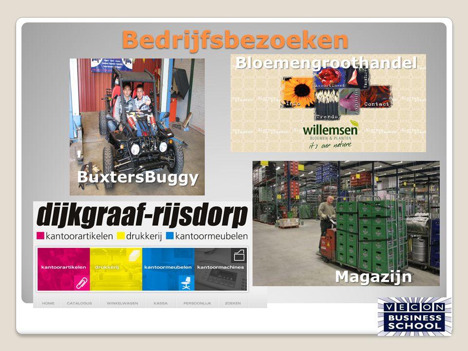 Bedrijfsbezoeken Bloemengroothandel BuxtersBuggy Magazijn