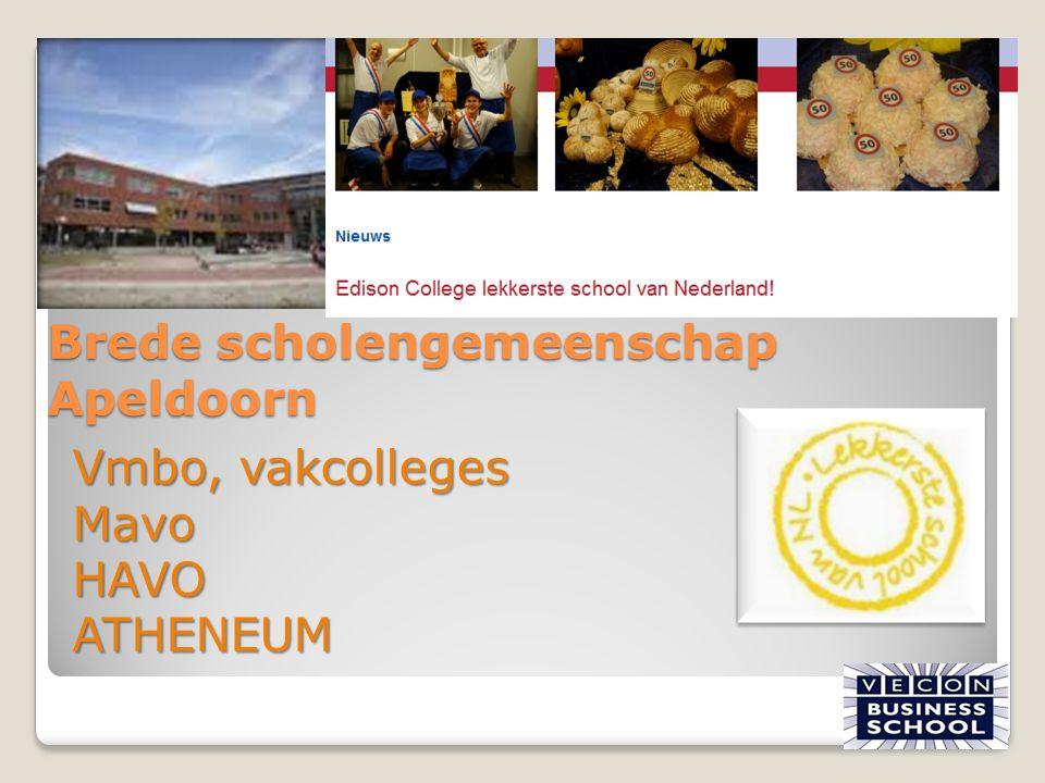 Brede scholengemeenschap Apeldoorn