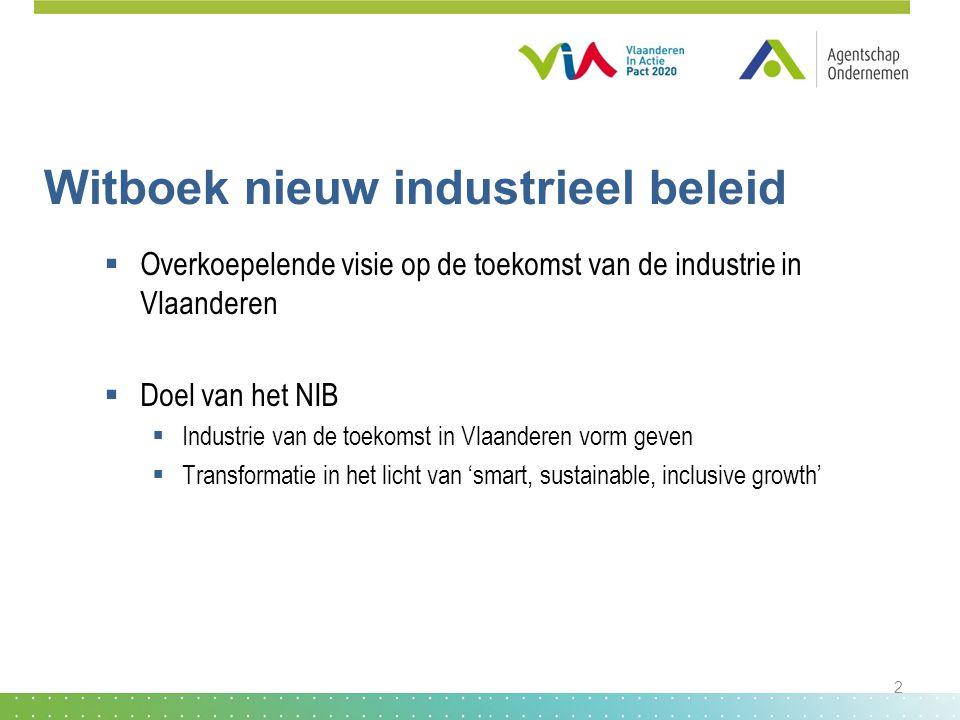 Witboek nieuw industrieel beleid
