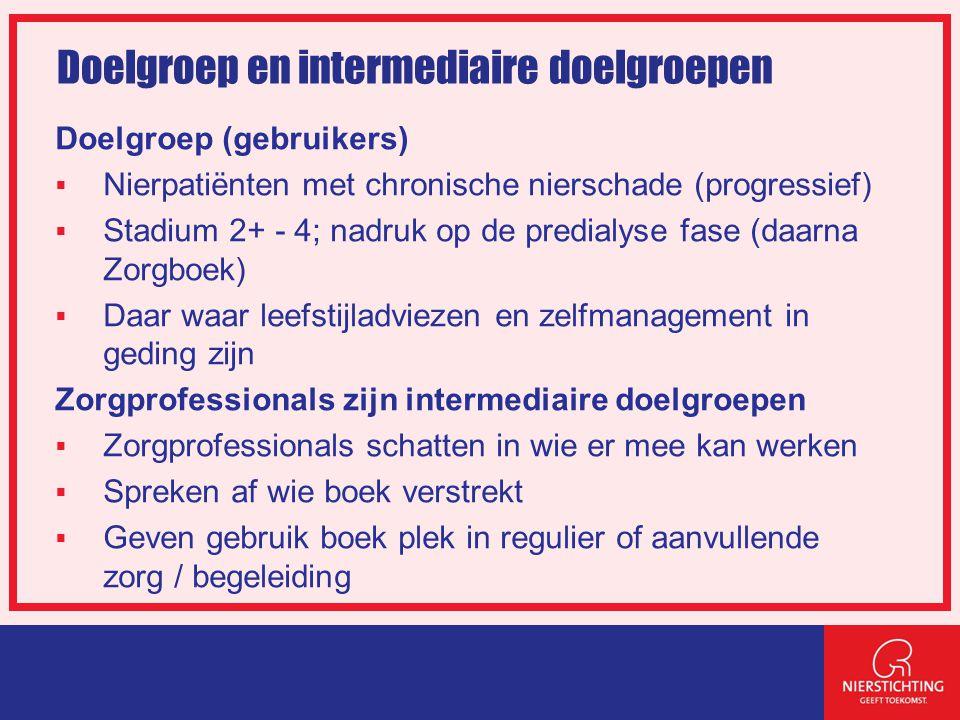 Doelgroep en intermediaire doelgroepen