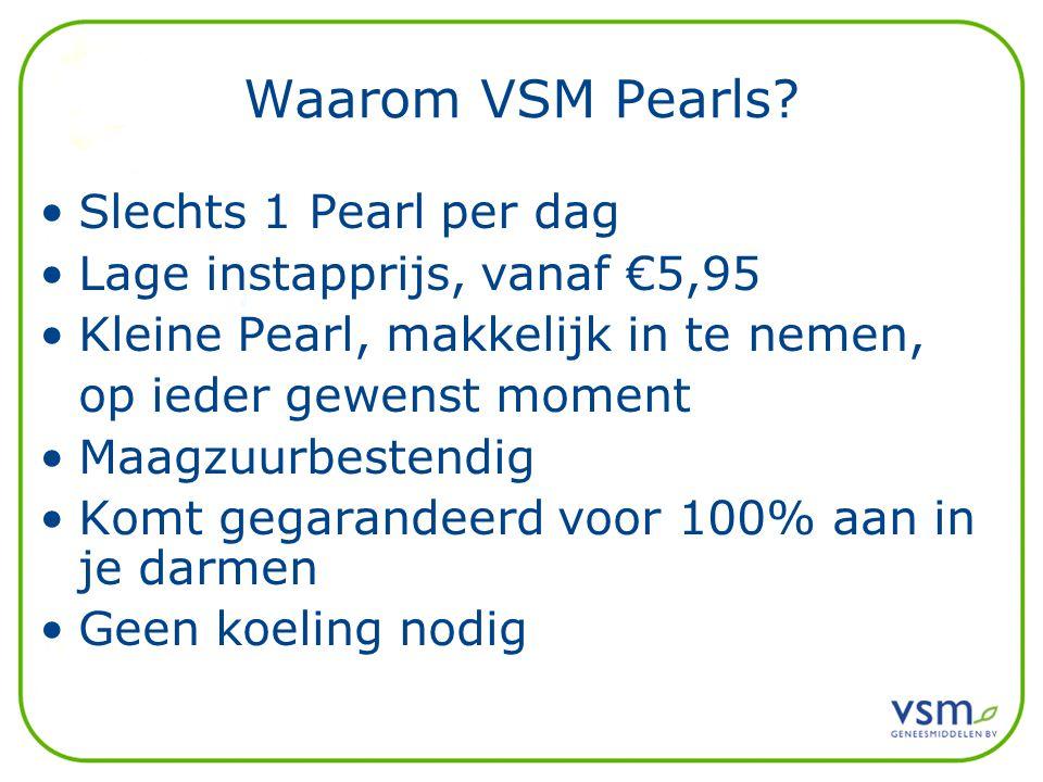 Waarom VSM Pearls Slechts 1 Pearl per dag